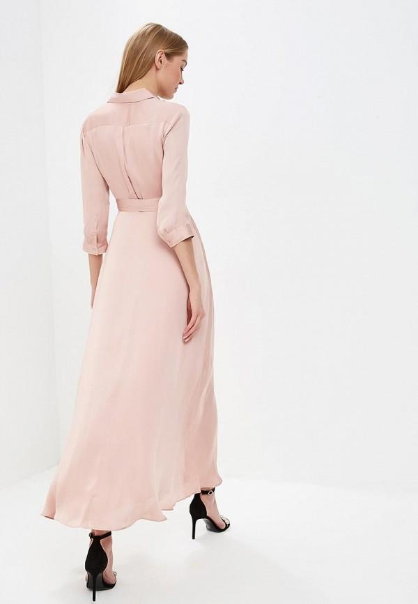 Фото 3 - женское платье Banana Republic розового цвета