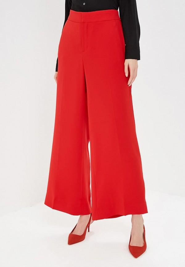 женские повседневные брюки banana republic, красные