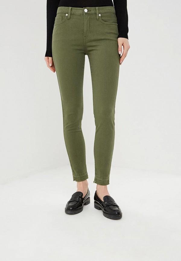 женские повседневные брюки banana republic, хаки
