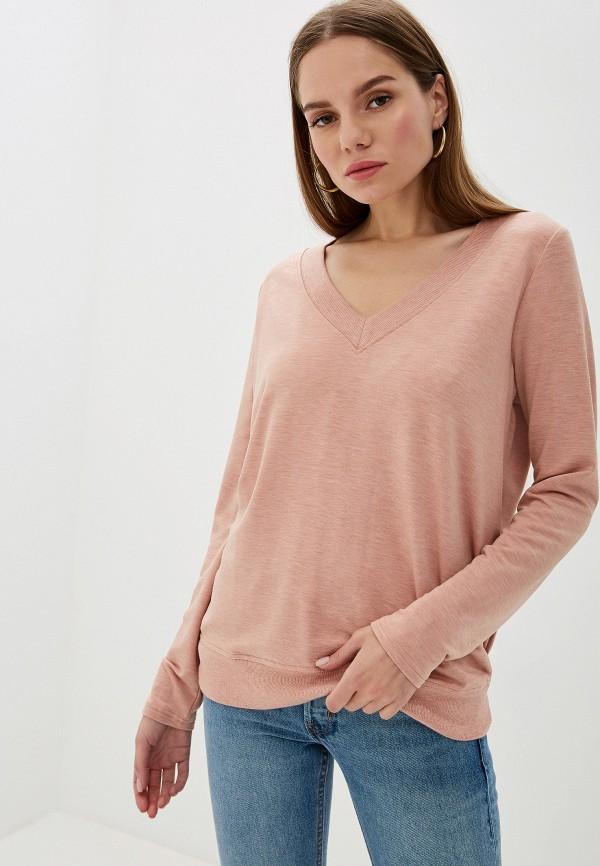 женский пуловер banana republic, розовый