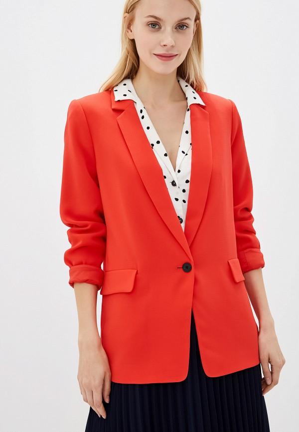 женский пиджак banana republic, красный