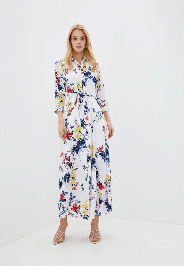 женское платье banana republic, белое