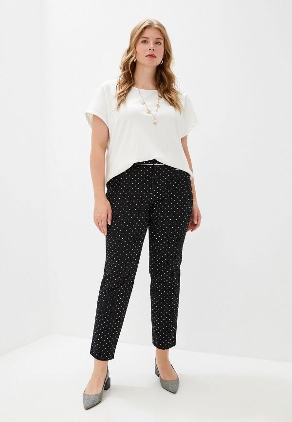 Фото 2 - женские брюки Banana Republic черного цвета