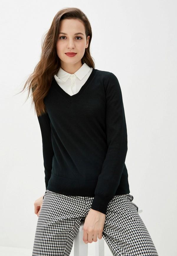 женский пуловер banana republic, черный
