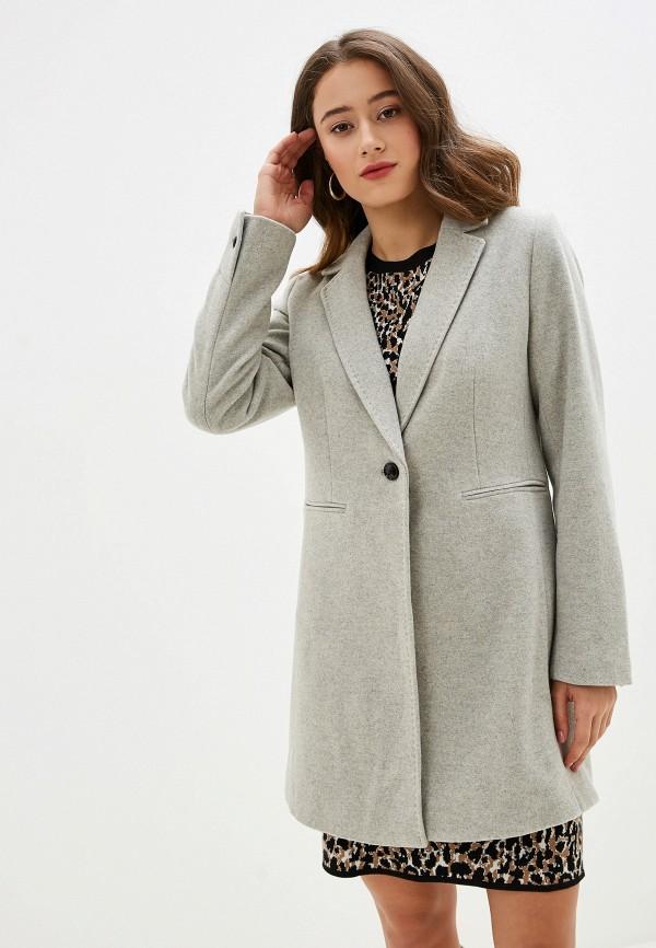 Фото - женское пальто или плащ Banana Republic серого цвета