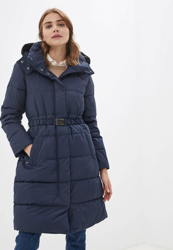 женская куртка banana republic, синяя
