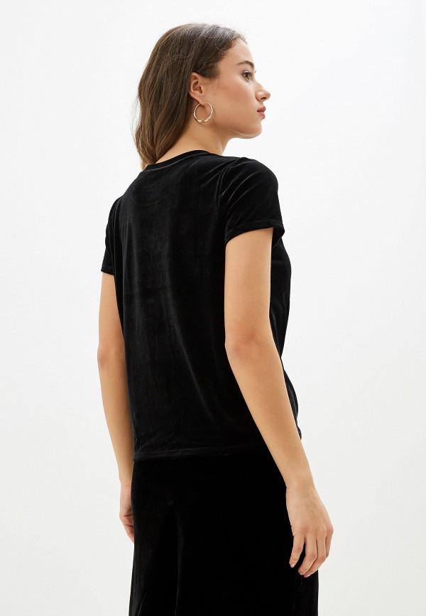 Фото 3 - женскую футболку Banana Republic черного цвета