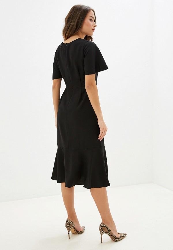 Фото 3 - женское платье Banana Republic черного цвета