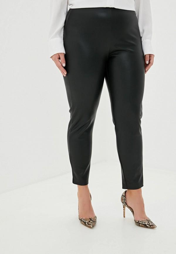 женские кожаные брюки banana republic, черные