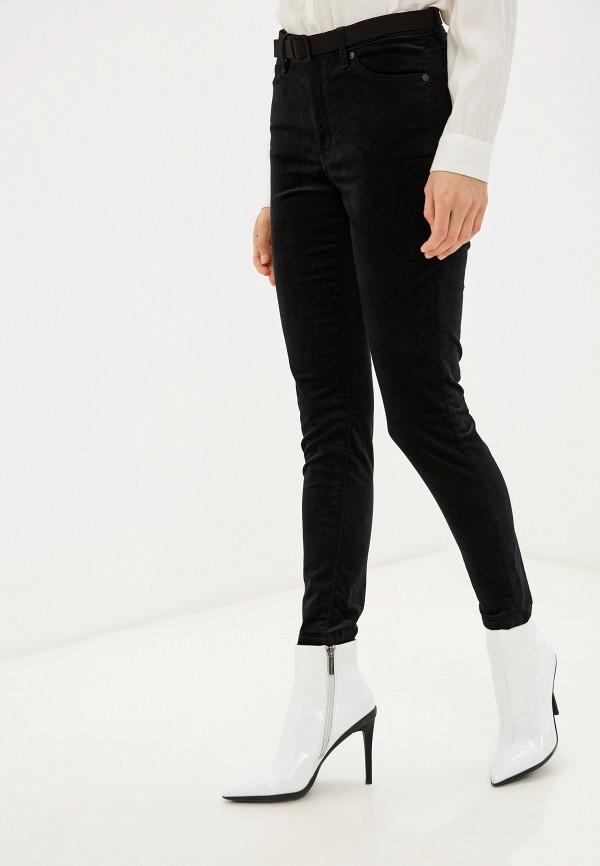 женские повседневные брюки banana republic, черные