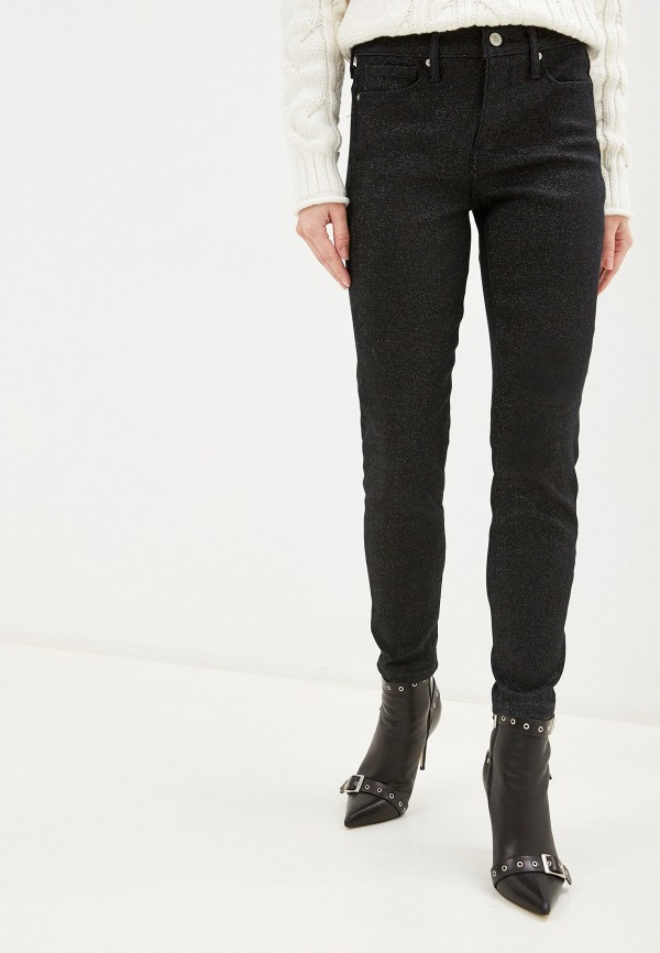 женские джинсы banana republic, черные