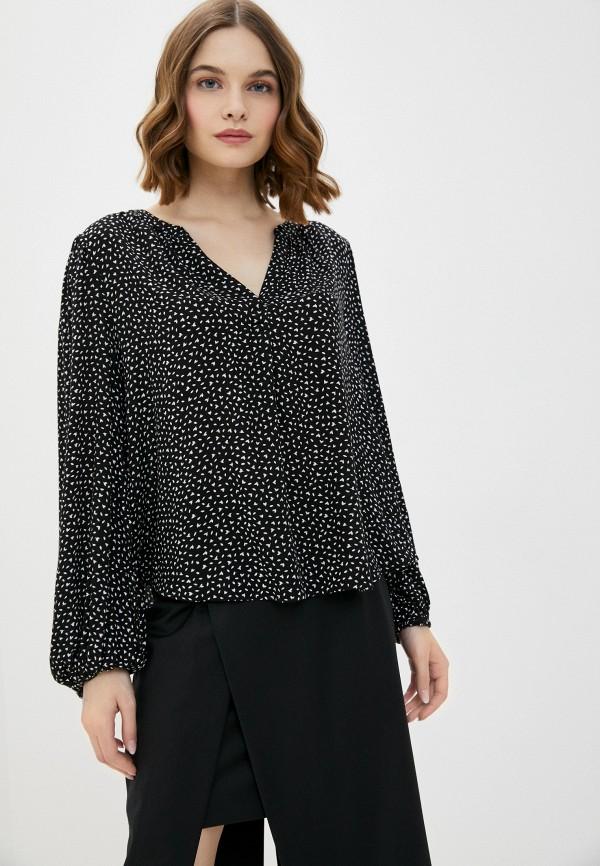 женская блузка banana republic, черная