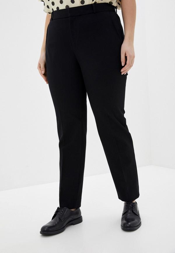 женские классические брюки banana republic, черные