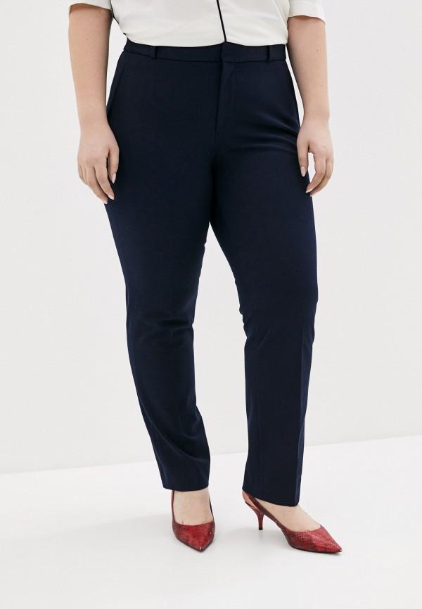 женские классические брюки banana republic, синие