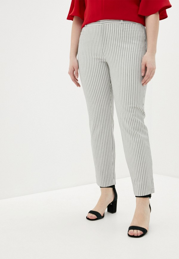женские зауженные брюки banana republic, белые
