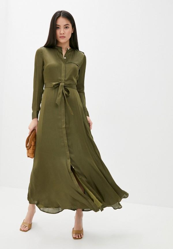 женское повседневные платье banana republic, хаки