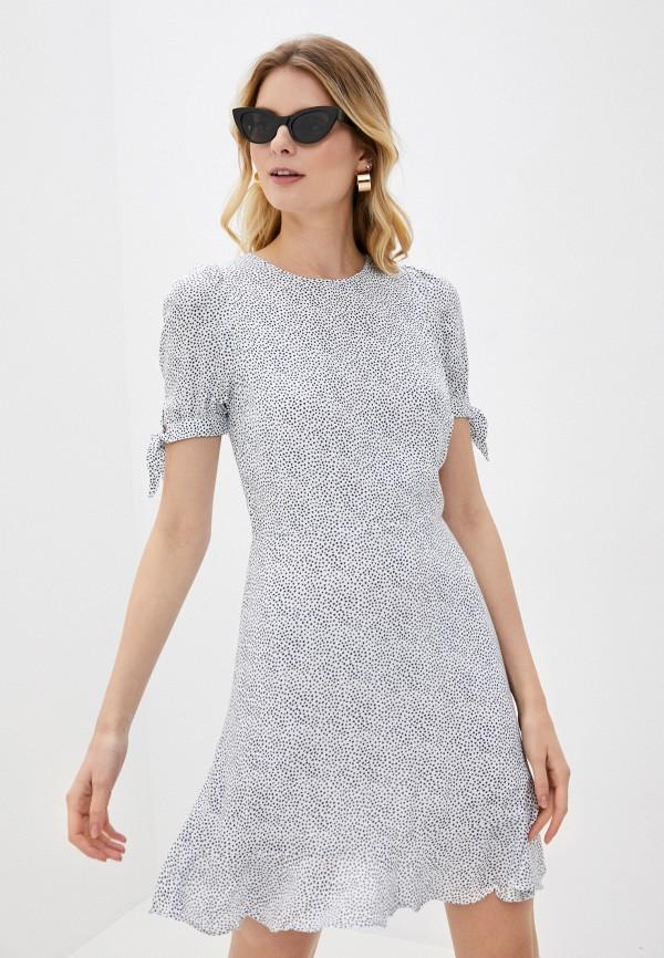 женское повседневные платье banana republic, белое
