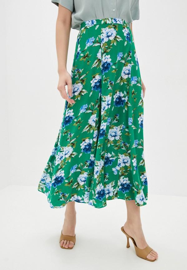 женская юбка banana republic, зеленая