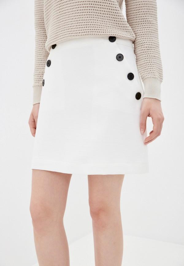 женская юбка banana republic, белая