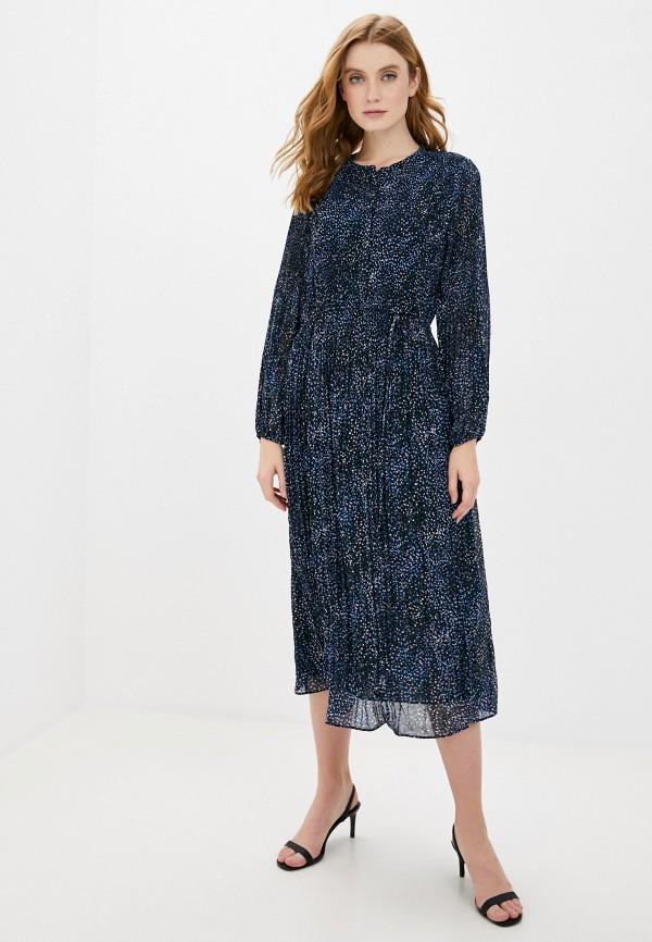 женское повседневные платье banana republic, синее