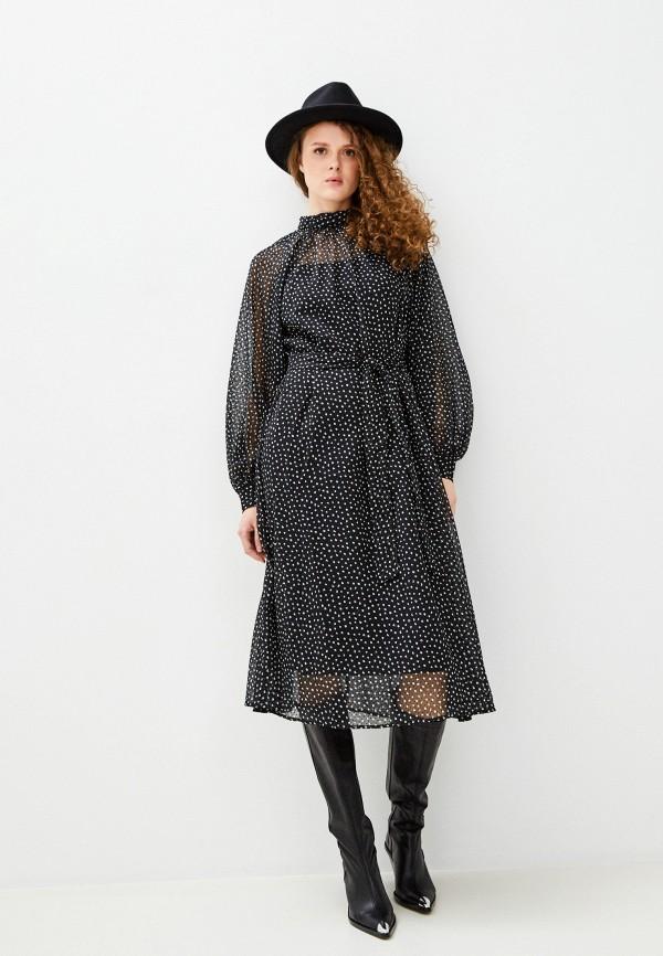 женское повседневные платье banana republic, черное