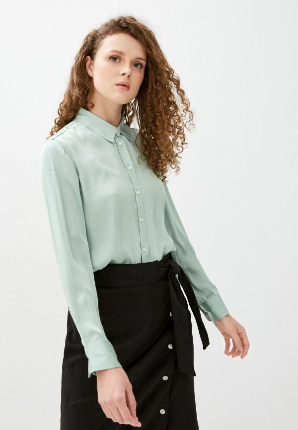 женская блузка banana republic, зеленая