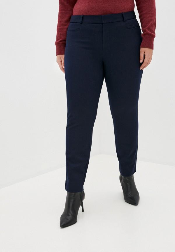 женские зауженные брюки banana republic, синие