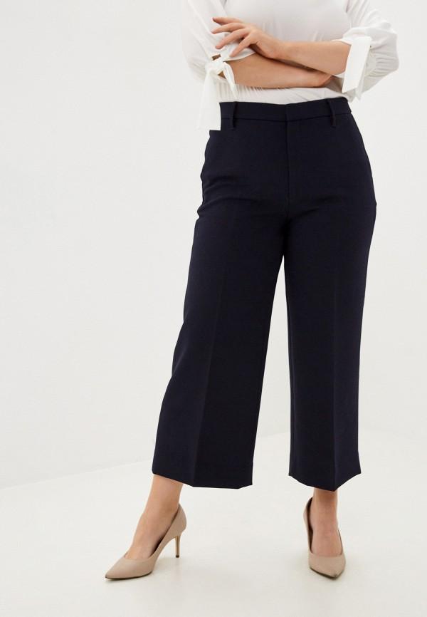 женские повседневные брюки banana republic, синие