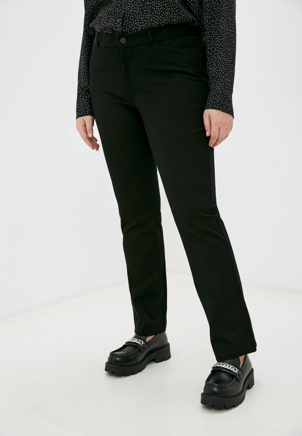 женские брюки клеш banana republic, черные