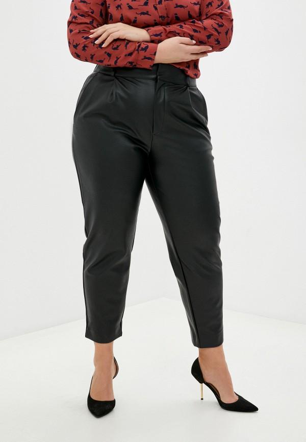 женские зауженные брюки banana republic, черные