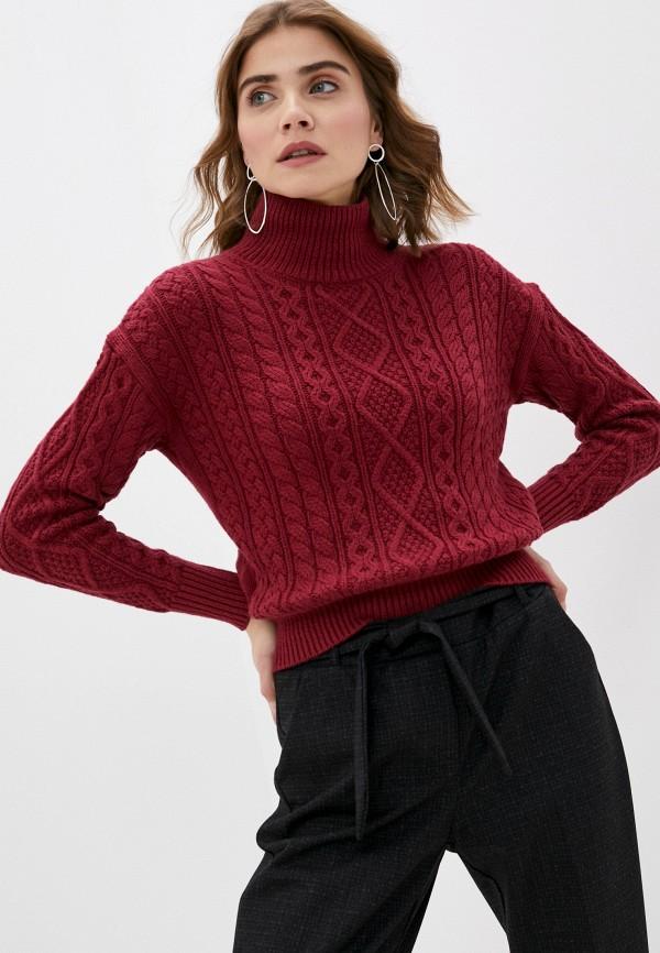 женский свитер banana republic, бордовый