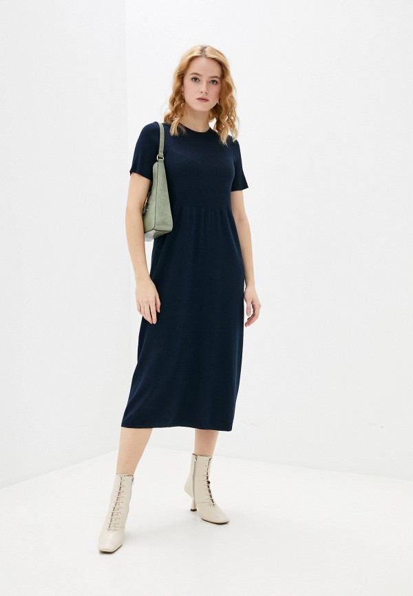 женское платье banana republic, синее