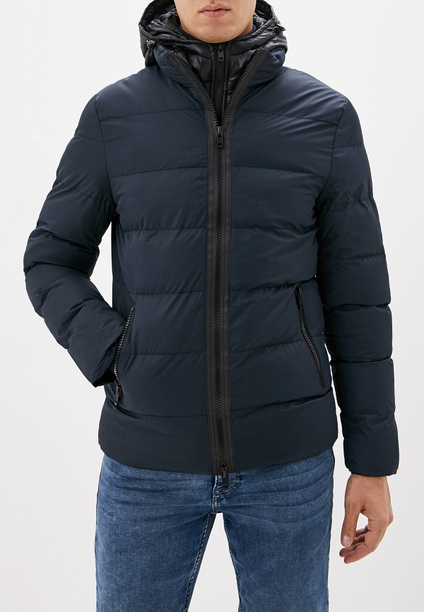 мужская куртка baker's, синяя