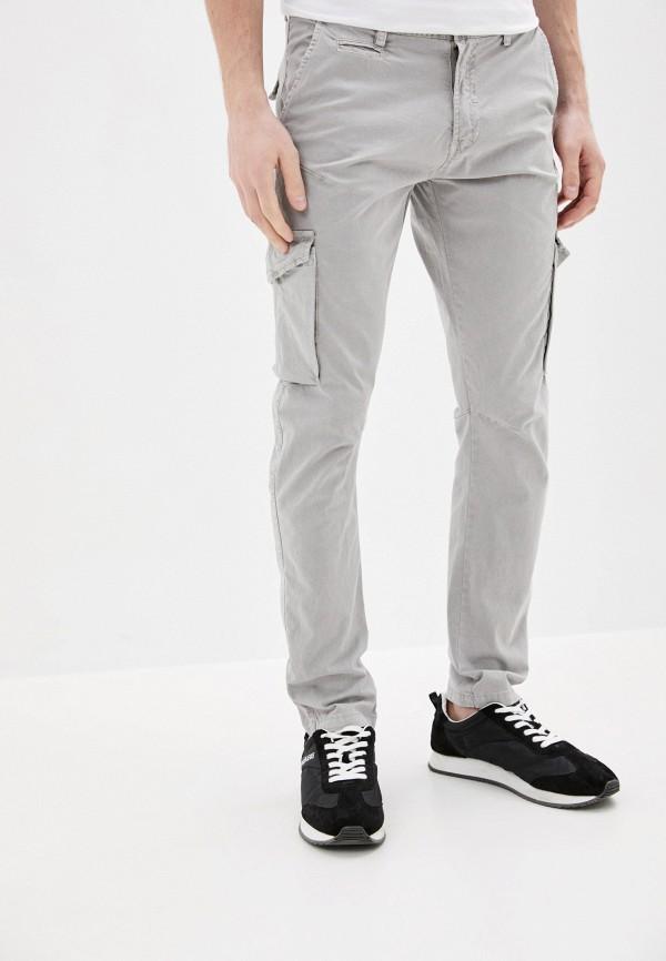 мужские брюки baker's, серые
