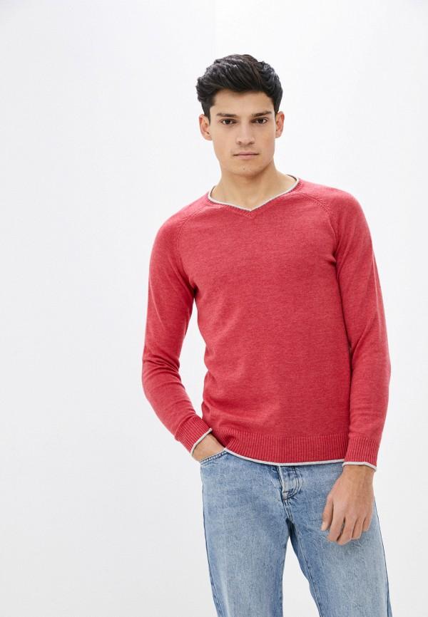 мужской пуловер baker's, розовый
