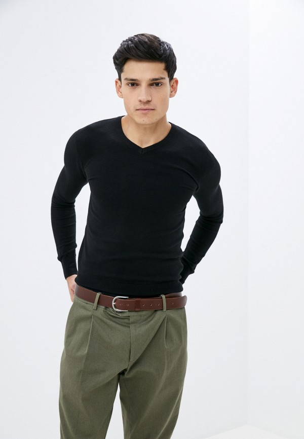 мужской пуловер baker's, черный