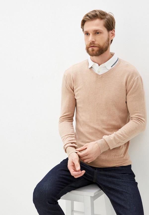 мужской пуловер baker's, бежевый