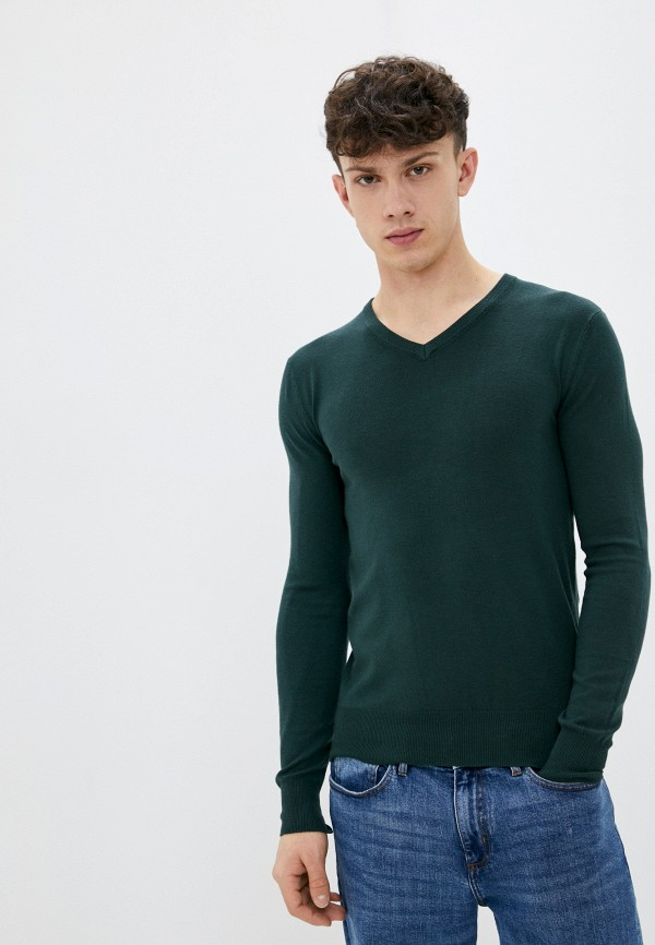 мужской пуловер baker's, зеленый