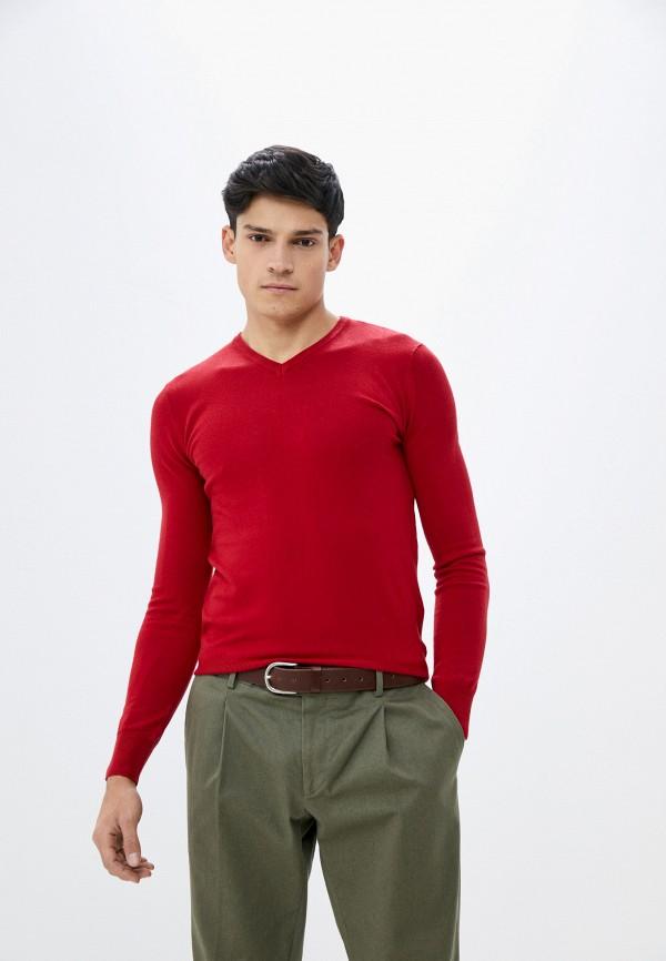 мужской пуловер baker's, красный