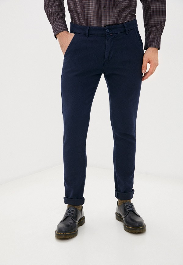 мужские повседневные брюки baker's, синие