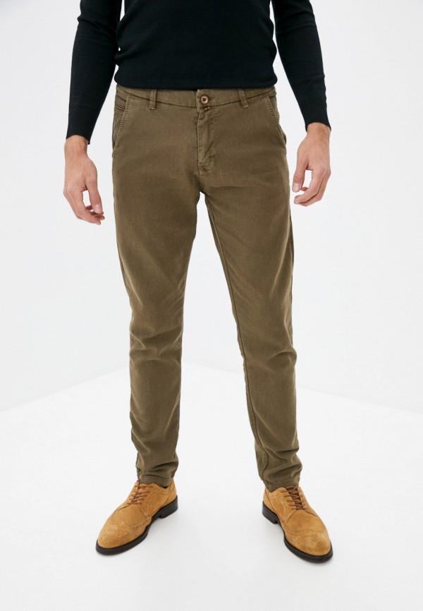 мужские брюки чинос baker's, коричневые