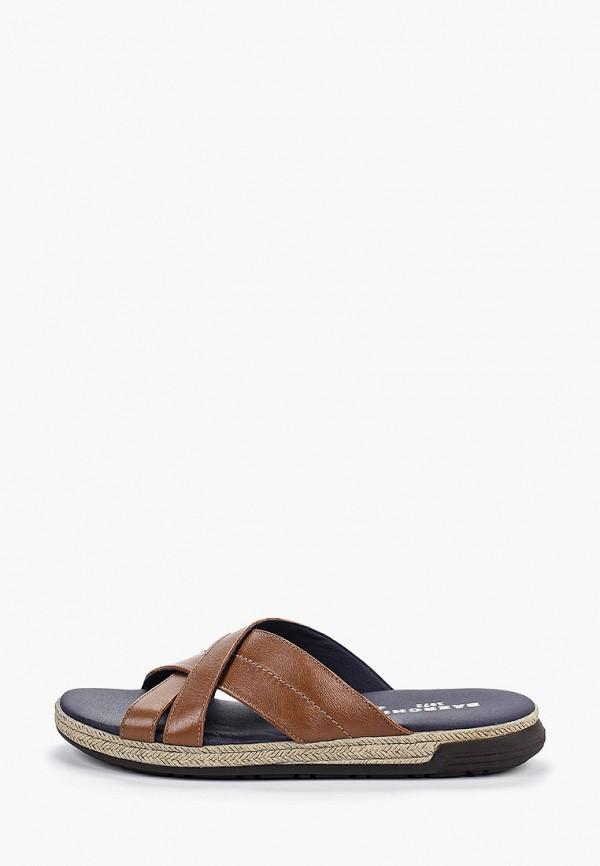 мужские сандалии baerchi, коричневые