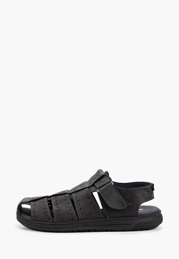 Фото - мужские сандали Baerchi черного цвета