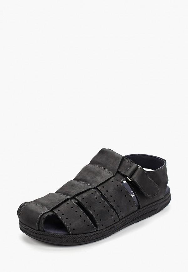 Фото 2 - мужские сандали Baerchi черного цвета