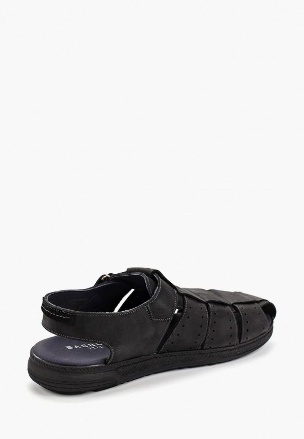 Фото 3 - мужские сандали Baerchi черного цвета