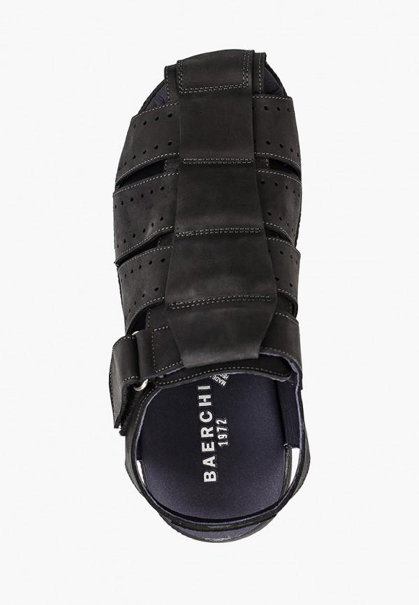 Фото 4 - мужские сандали Baerchi черного цвета