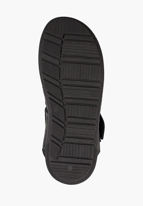 Фото 5 - мужские сандали Baerchi черного цвета