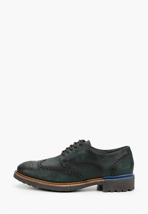 Фото - мужские туфли Baerchi зеленого цвета