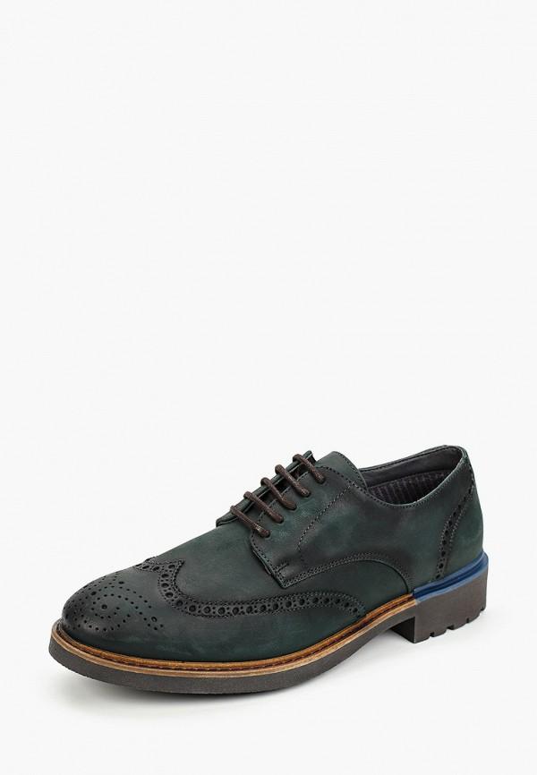 Фото 2 - мужские туфли Baerchi зеленого цвета