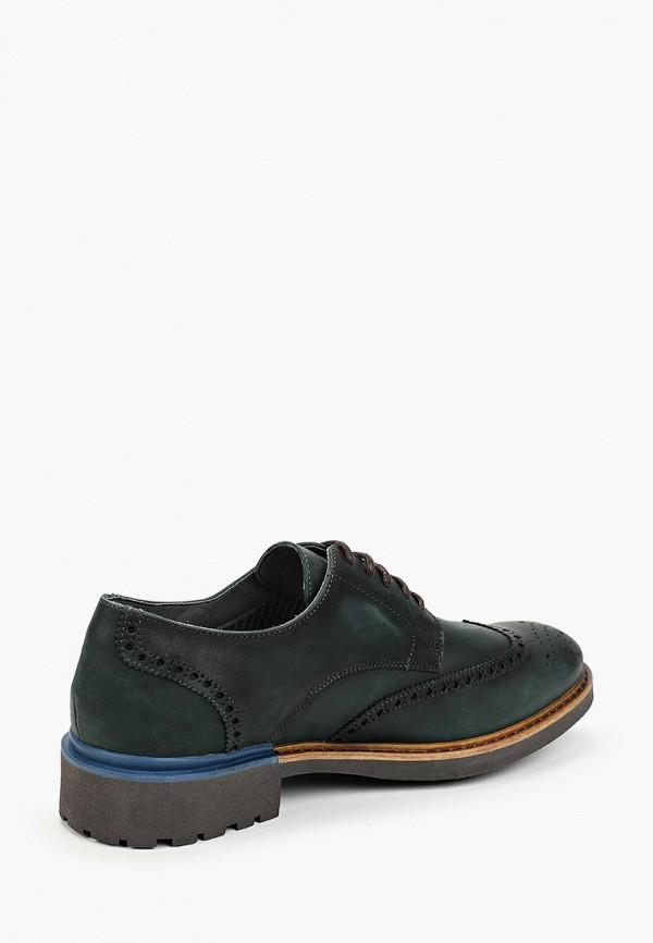 Фото 3 - мужские туфли Baerchi зеленого цвета